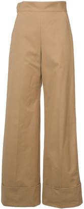 Rachel Comey oversize cuff palazzo trousers