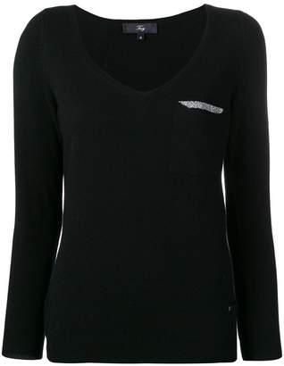Fay v-neck jumper