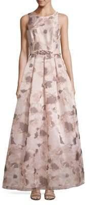 Eliza J Open-Back Ball Gown