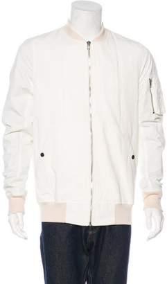 Rick Owens Woven Bomber Jacket