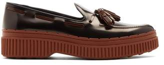 Tod's Spazzolato leather loafers