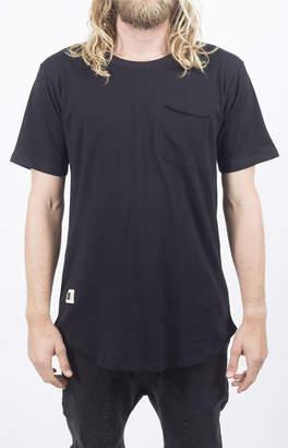 LIRA Black Camp Knit T-Shirt