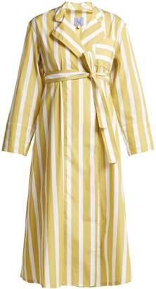 Thierry Colson Sasha striped cotton-poplin dress