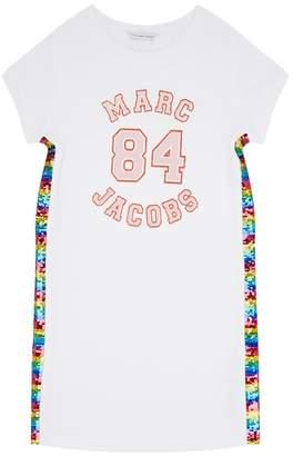 Marc Jacobs Marc 84 Sequin T-Shirt Dress
