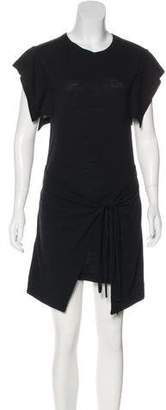 Etoile Isabel Marant Linen & Virgin Wool-Blend Mini Dress