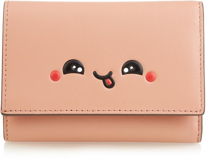 Anya HindmarchANYA HINDMARCH Kawaii tri-fold leather wallet
