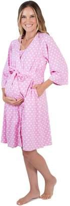 Baby Be Mine Maternity/Nursing Robe
