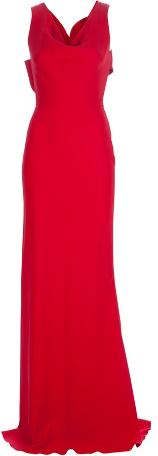 Valentino sleeveless maxi dress