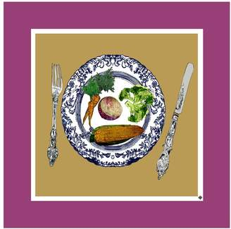 Jessica Russell Flint - Vegetable Plate Limited Edition Print