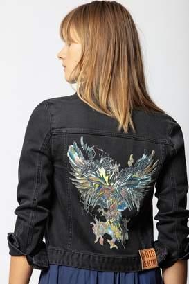 Zadig & Voltaire Zadig Voltaire Kioky Grunge Eagle Jacket