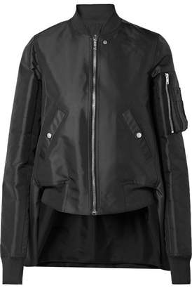 wrap front fitted jacket - Black Rick Owens Outlet Very Cheap Geniue Stockist Cheap Price Cheap Sale Fashion Style Fashionable Cheap Price KloTF
