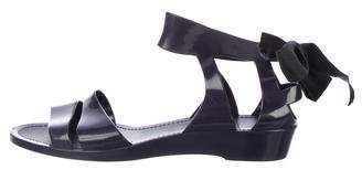 See by Chloe Rubber Ankle Strap Sandals