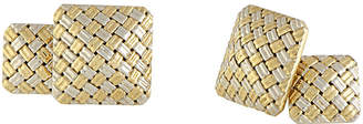 Cartier Heritage  18K Two-Tone Cufflinks