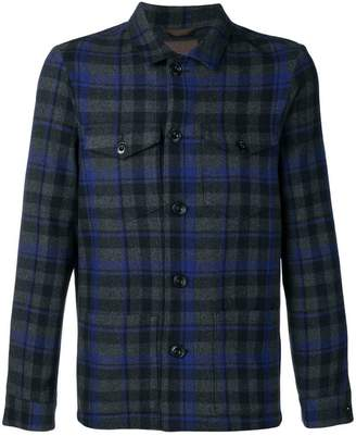Altea checked work shirt jacket