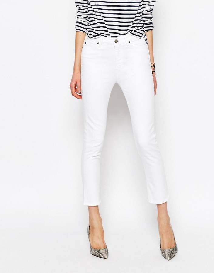 Niki Cropped Straight Jeans