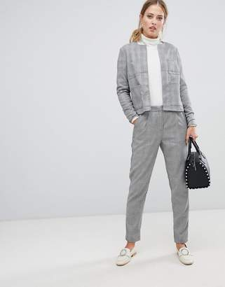 Y.A.S Jekky check tailored trousers