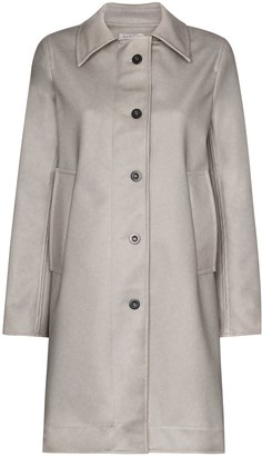 Ashley Williams Dolly button-up faux leather coat