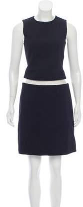 Michael Kors Virgin Wool Knee-Length Dress