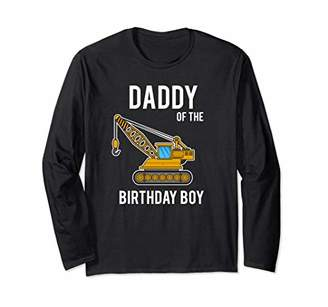 Cool Daddy Of The Birthday Construction Boy Shirt Gift