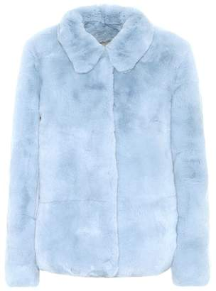 Yves Salomon Meteo Fur jacket
