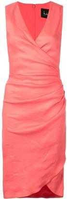 Nicole Miller wrap style dress