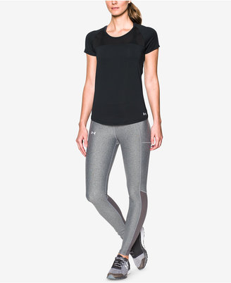 Under Armour Women's Fly By Cutout-Back Running Top $39.99 thestylecure.com