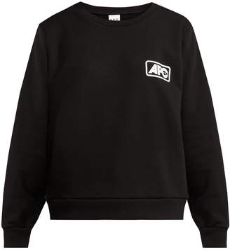 A.P.C. Odette U.S. logo cotton sweatshirt