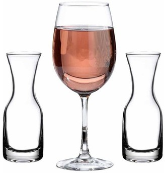 Lillian Rose Wine Glass and 2 Carafes Ceremony Set