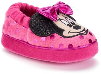 Disney Minnie Mouse Toddler Girls' Slippers $17.99 thestylecure.com