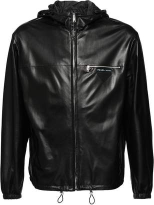 Prada Light nappa leather jacket