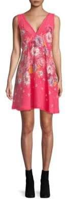 Free People Floral Slip Dress