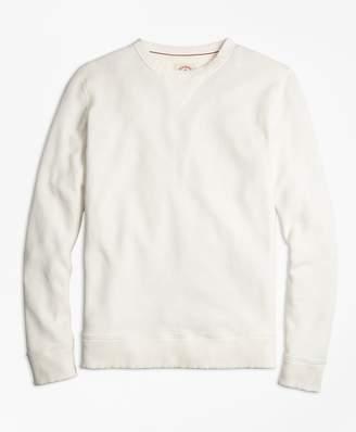 Brooks Brothers Pique Crewneck Sweatshirt