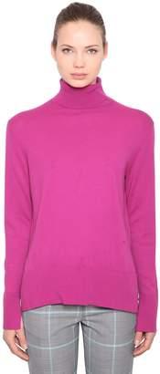 Calvin Klein Wool & Cotton Turtleneck Sweater