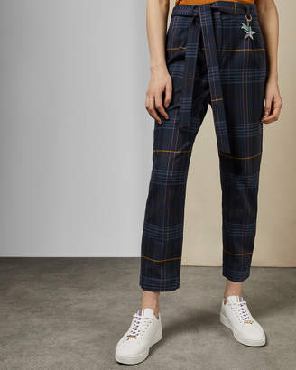Ted Baker CARRIE Robot check trousers