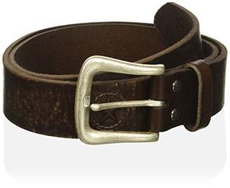 Nocona Belt Co. Men's Buckstitch Billet & Tabs Small Concho Belt