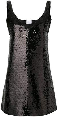Dondup sequin v-neck dress