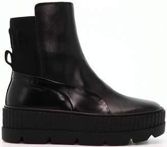 Puma Chelsea Sneaker Boot Rihanna Fenty Black (W)