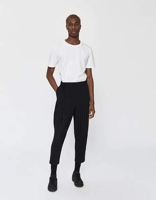 Issey Miyake Homme Plissé Basics Poly Jogger in Black