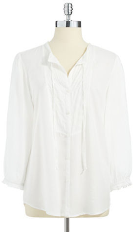 VINTAGE AMERICA Button-Down Woven Shirt