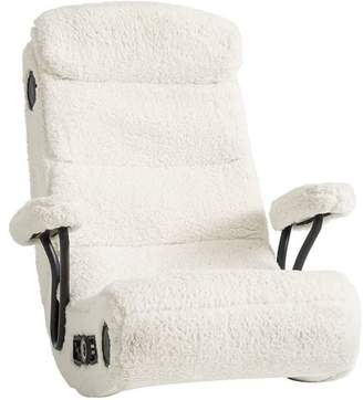 Pottery Barn Teen Ivory Sherpa Got Game Chair