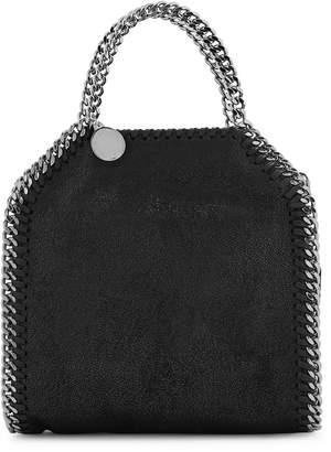 Stella McCartney Falabella Tiny Black Top Handle Bag
