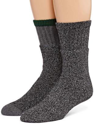 ST. JOHN'S BAY 2 Pair Boot Socks-Mens