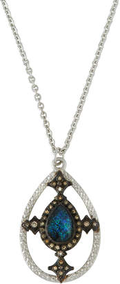 Armenta New World Doublet Pear Pendant Necklace