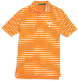 Southern Tide Gameday Driver Stripe Polo - University of Tennessee
