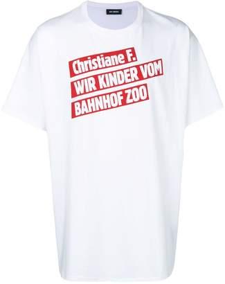 Raf Simons oversize printed shirt