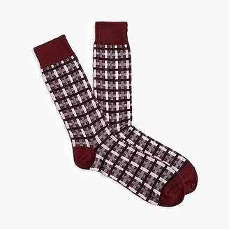 J.Crew Gingham dress socks