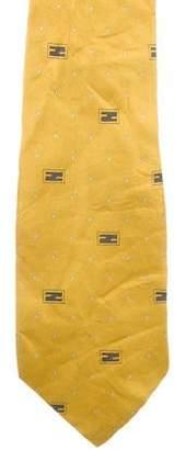 Fendi Vintage Silk Tie