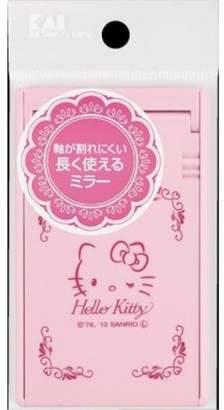 Hello Kitty (ハロー キティ) - 貝印 ハローキティ 軸が割れにくいミラー S KK2020