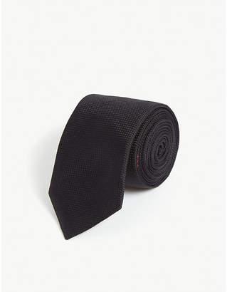 HUGO Silk skinny blade tie