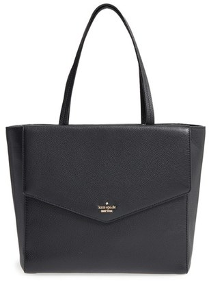 Kate Spade New York Spencer Court Archie Leather Tote $428 thestylecure.com